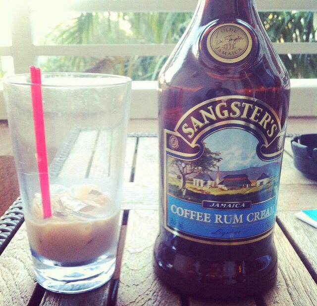 sangsters coffee rum cream product of jamaica