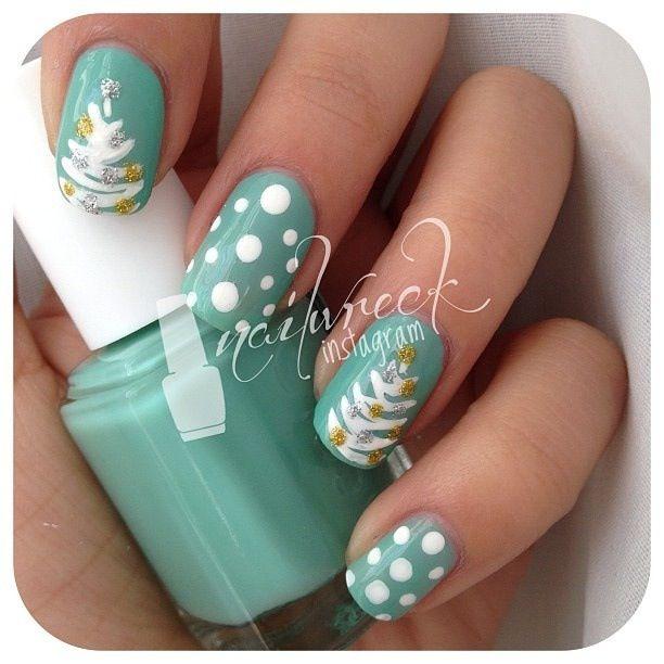 Todo Unhas: Diseño de Uñas Navideñas | Uñas | Pinterest | Diseños de ...