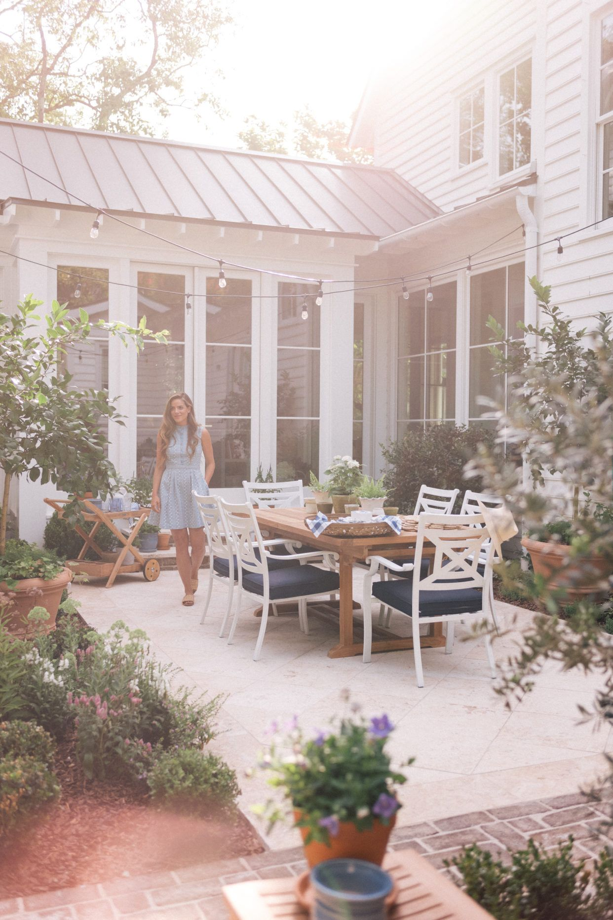 Julia Engel's Gorgeous Backyard Makeover Will Make You Crave Eternal Summer