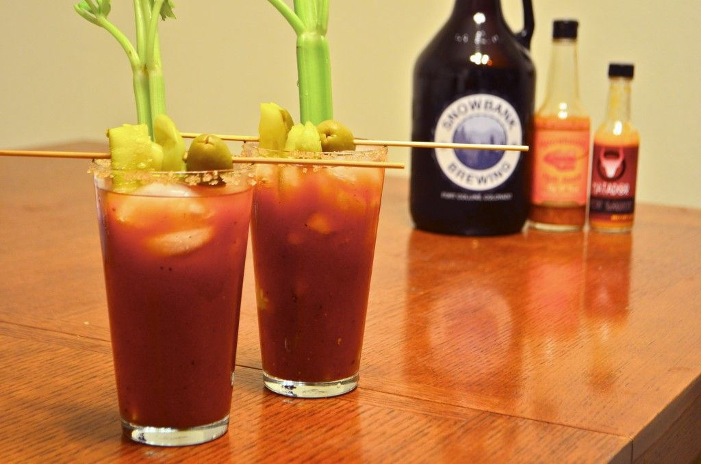 Colorado Mary - Bloody Mary created with our Colorado Red.
