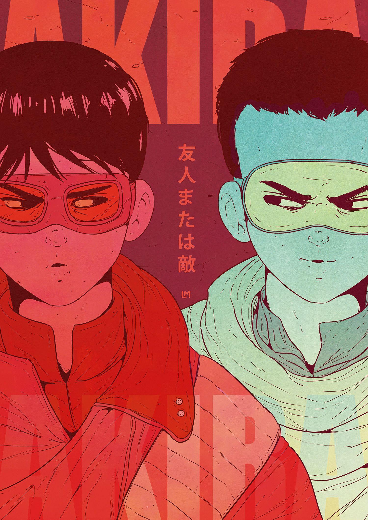 Artstation Akira Poster Lucas Mendonca Akira Anime Akira Poster Akira