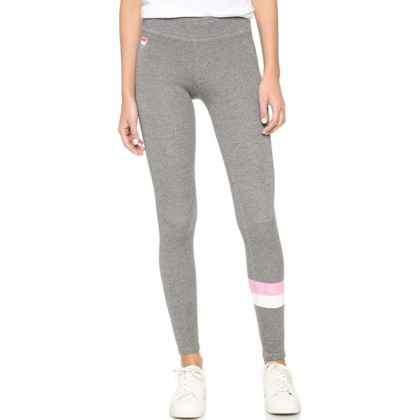 SUNDRY Stripes Skinny Sweatpants ( 105) ❤ liked on Polyvore featuring  activewear bbbc5684ad