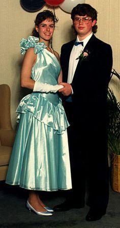 80s prom dress, Prom