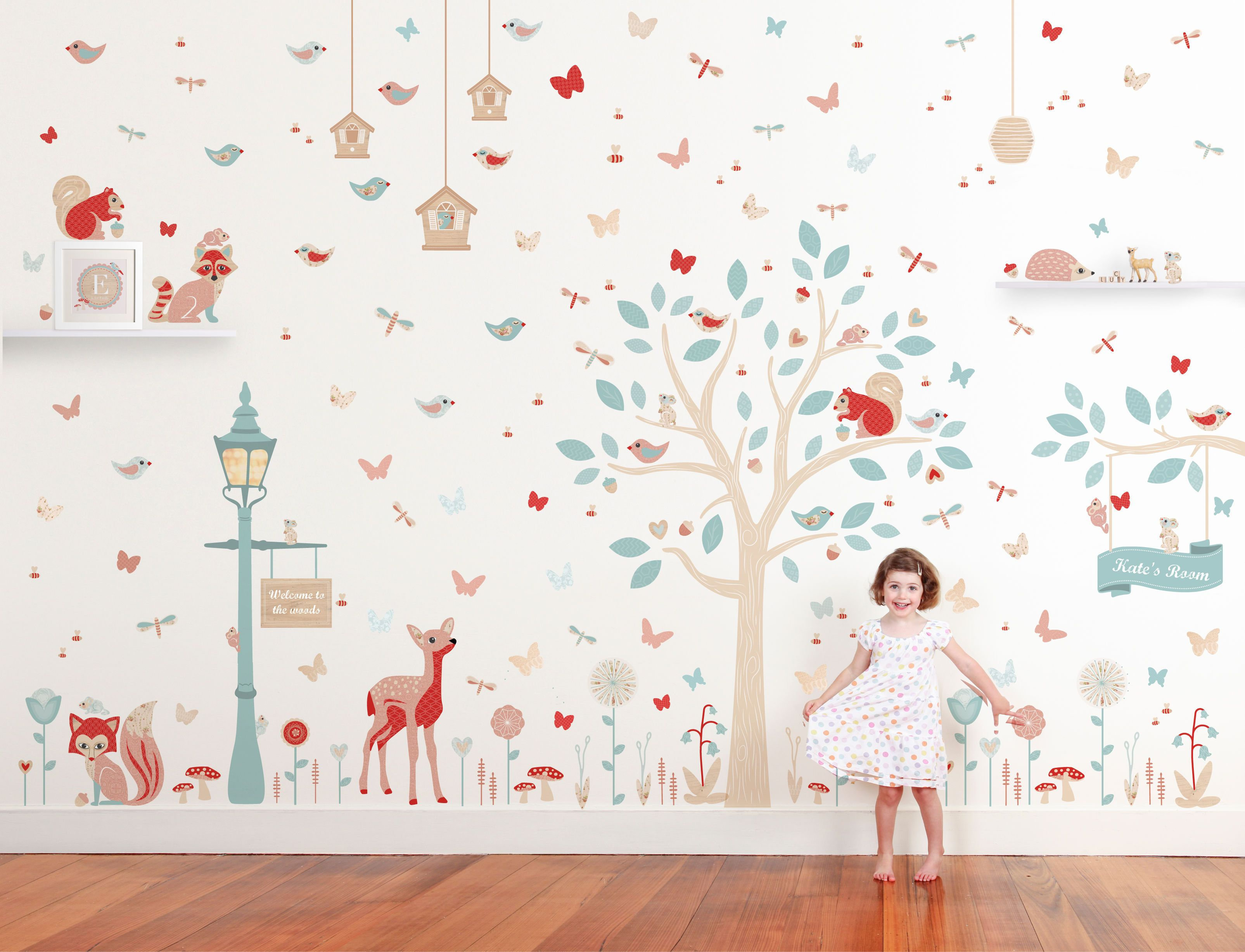Into the Woods - Woodland Wall Stickers - Wall Stickers - Wall ...