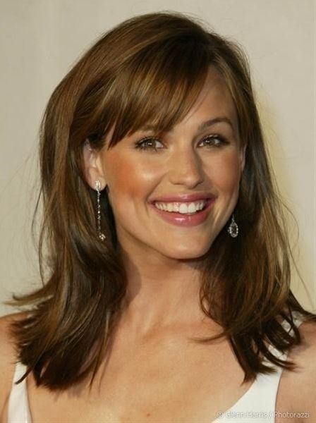 Hairstyles For Medium Length Hair Bangs : 16 great ideas of long hair with bangs bangs and empire