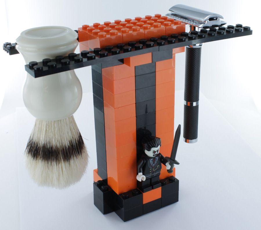 Halloween brush stand! Shaving stand, Safety razor, Shaving