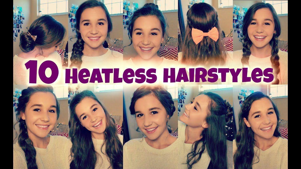 Luxus Kurze Frisuren für die Schule - Frisur in 10  Heatless
