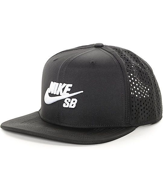 e3018bf087233 Get an all day style with a DRI-FIT lining to keep your head dry and cool  plus perforated back panels on a black colorway.