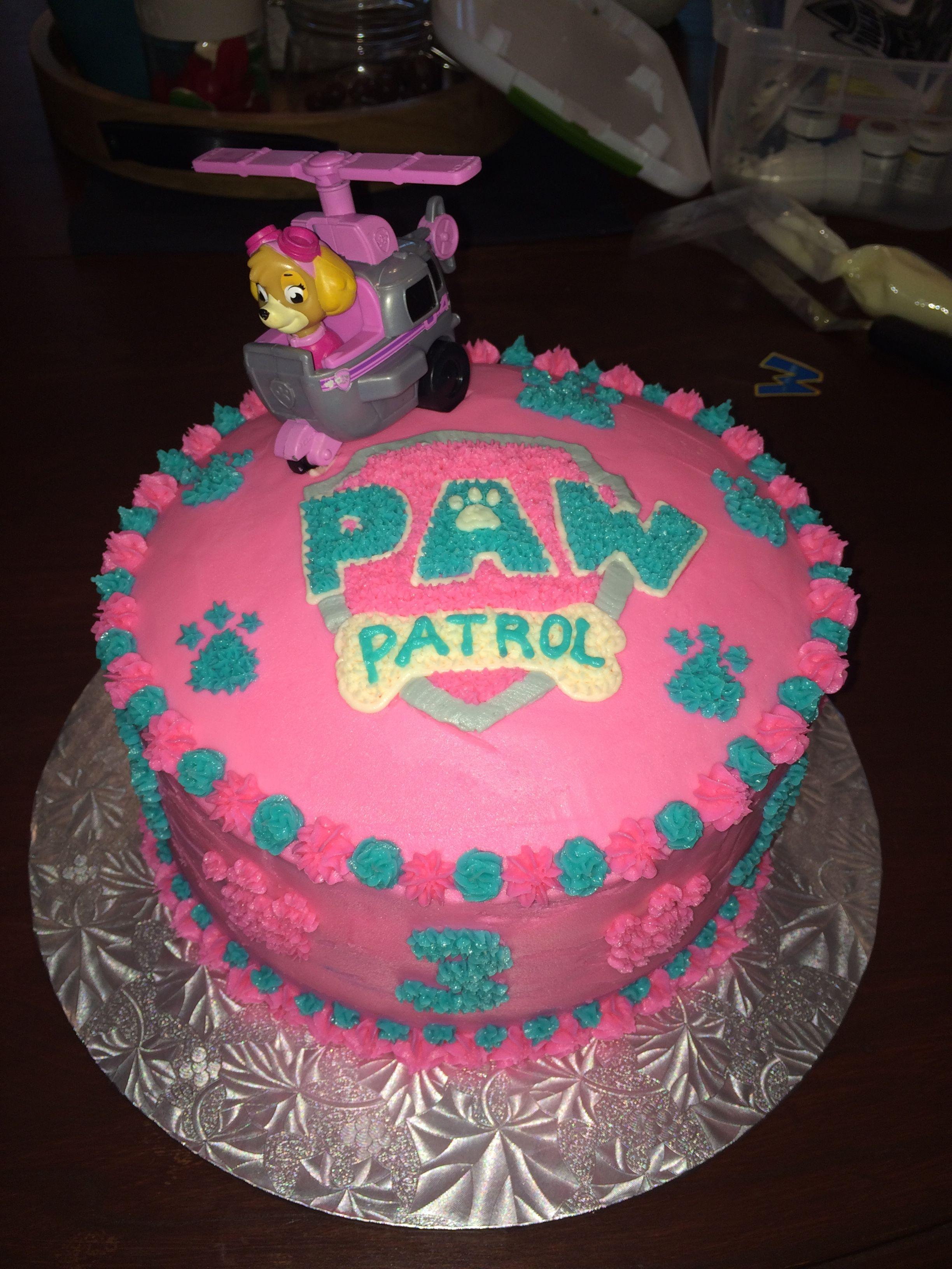 Paw Patrol girls cake | Paw patrol cake | Pinterest | Patrulla ...