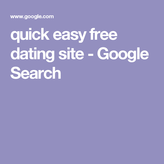 quick search dating sites