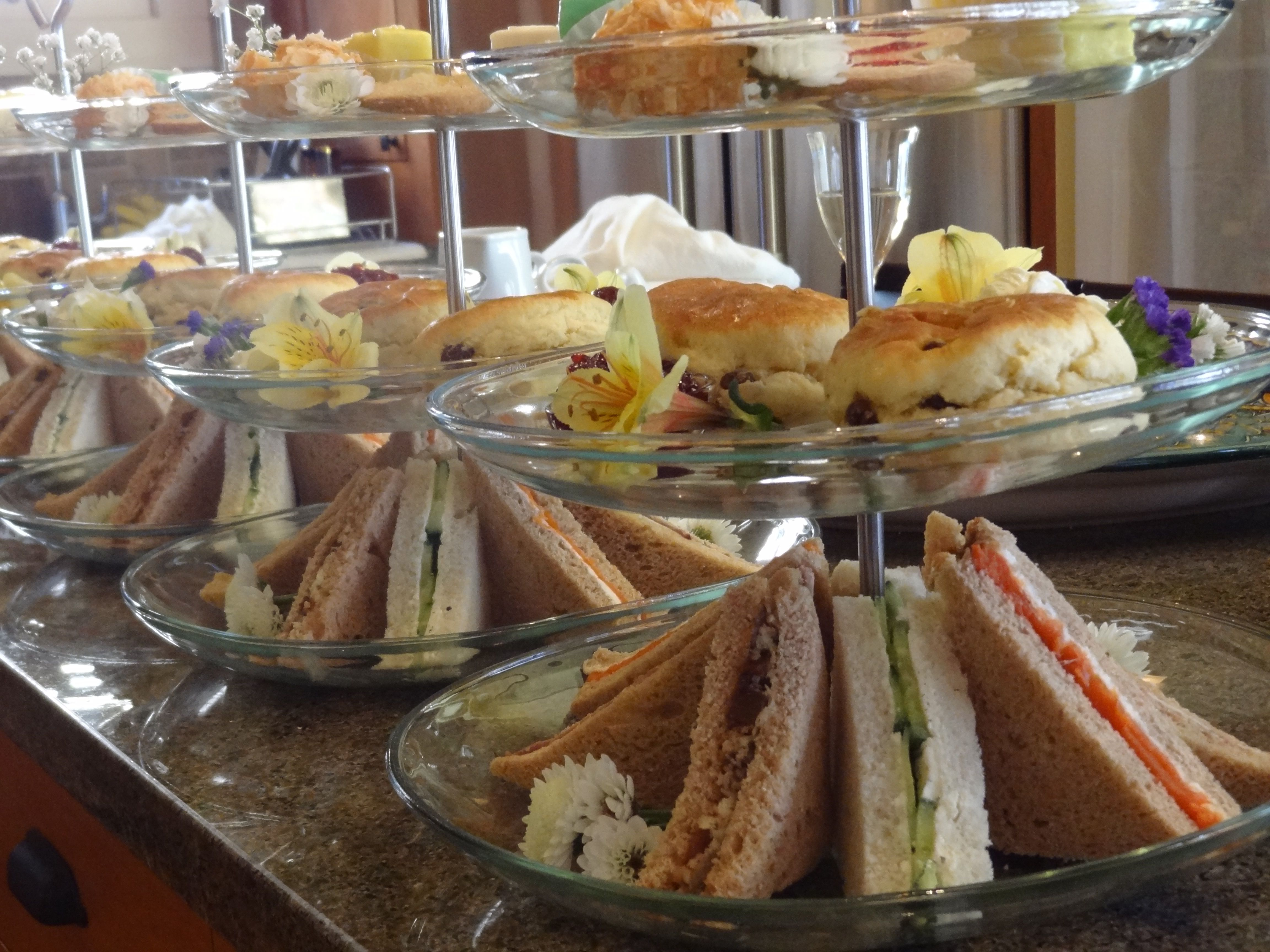 A High Tea 80Th Birthday Party In Alameda