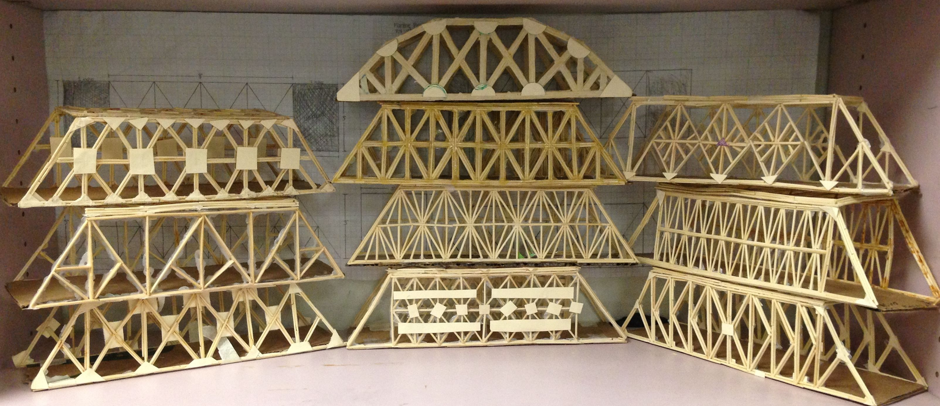 balsa wood bridge strongest design strongest bridge design in the world | Bridges | Pinterest | Bridge ...