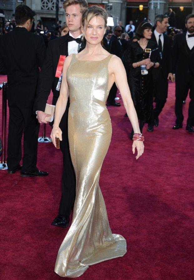Renée Zellweger, Carolina Herrera Oscars 2013