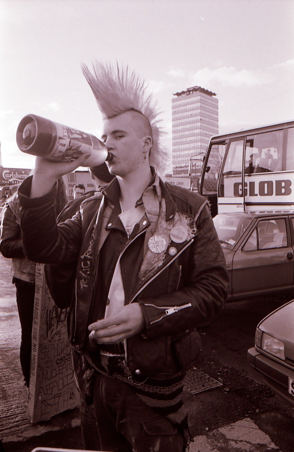 Dublin punk on the quays wally cassidy is fearr gaeilge
