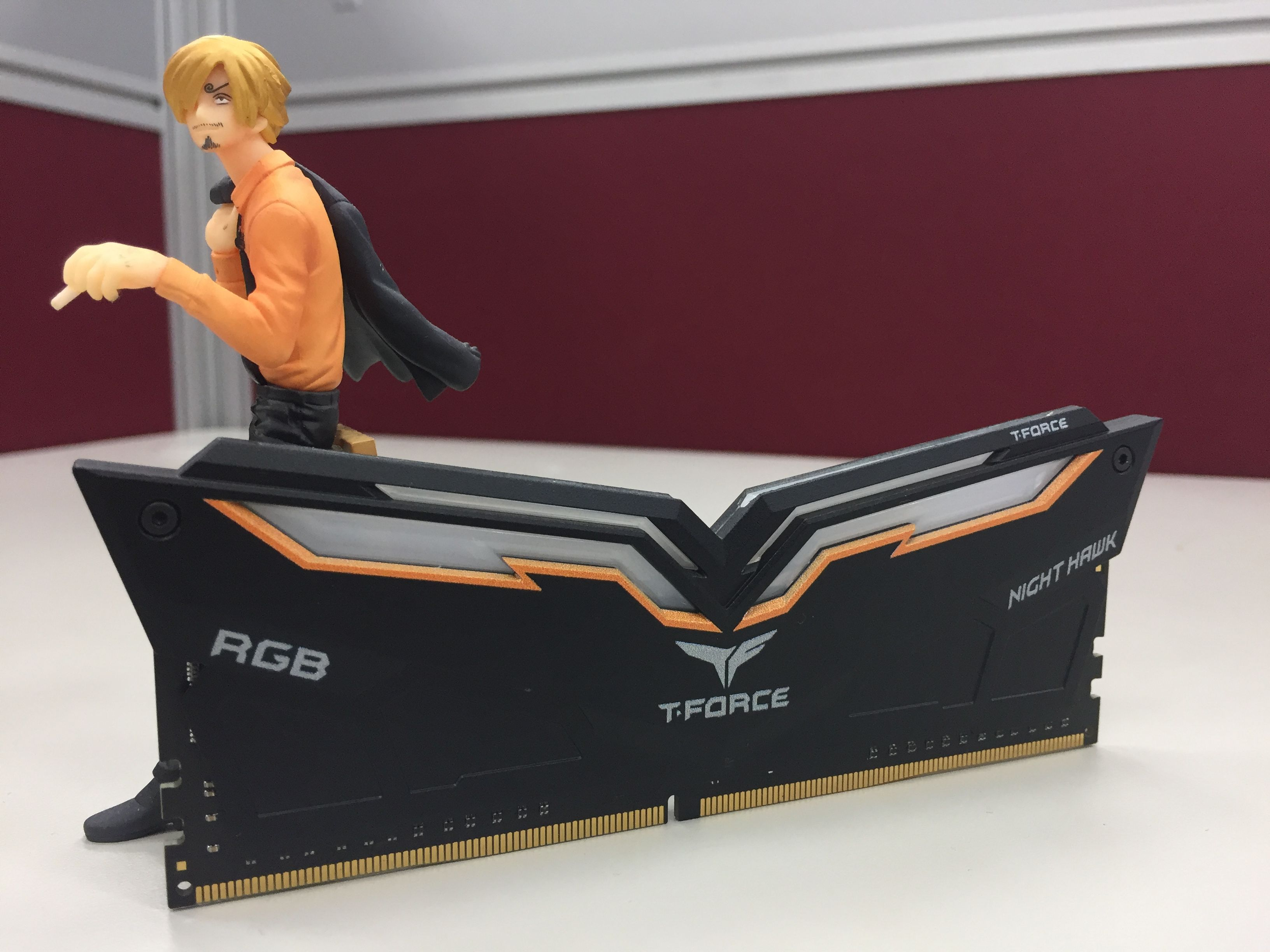 Stylish And High Quality Memory Modules Stay Cool With Our T Force