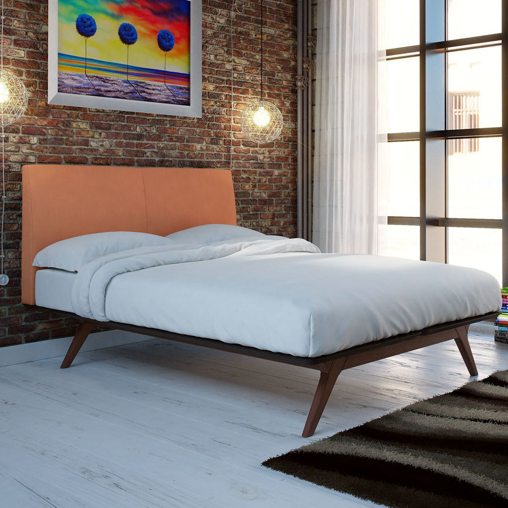 best service 32fd5 89064 Modesto Upholstered Platform Bed | Products | Upholstered ...