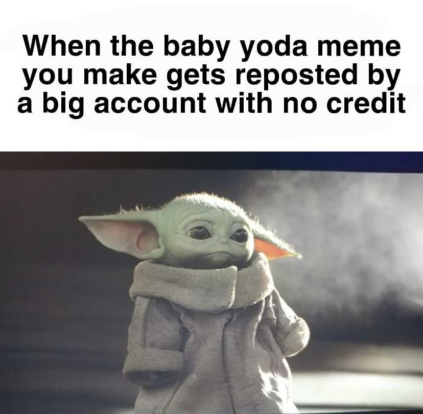 But Its Okay Because Everyone Deserves Baby Yoda Yoda Babyyoda Starwars Episode9 Themandalorian Mandalorian Disne Yoda Meme Star Wars Memes Disney Funny