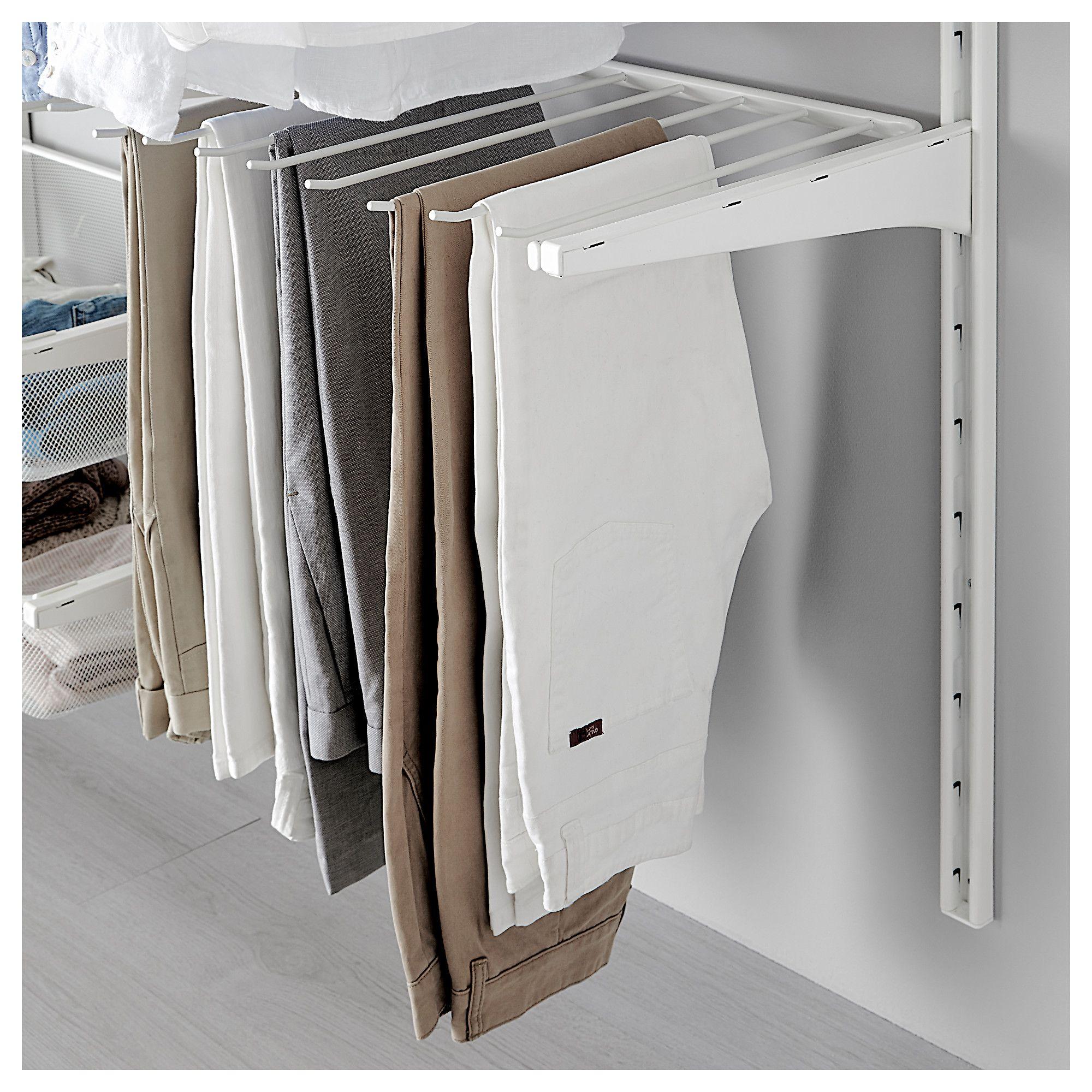 walk in custom closet rack pin out pants full slanted ceilings pull extension