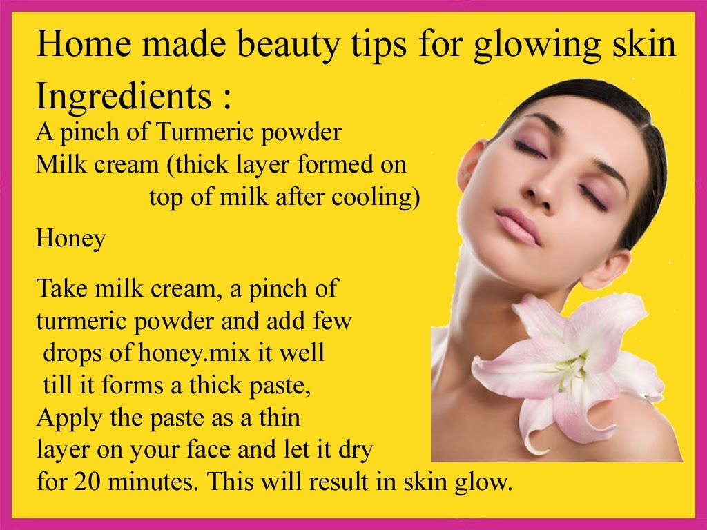Beauty Tips: Home Remedies for Glowing Skin  Beauty tips for