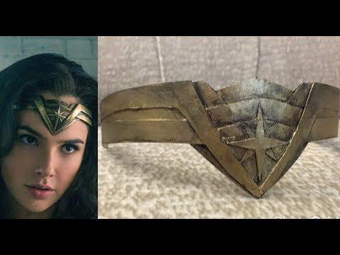 Justice League Wonder Woman Tiara  Crown Replica
