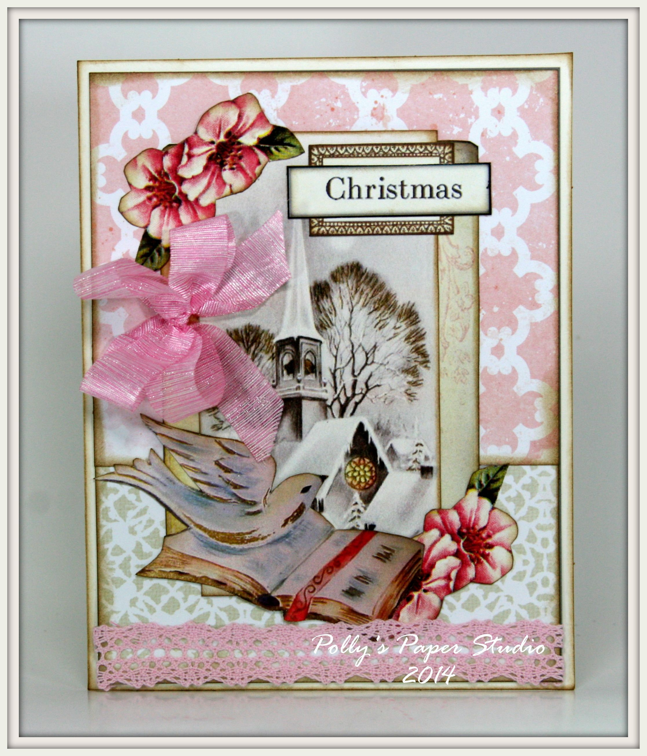 Shabby Chic Pink Christmas Creativity Kit Shabby Chic Pink Pink