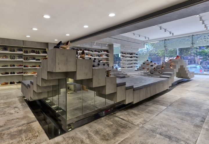 Regal Shoes Store By NUDES Mumbai India Retail Design Blog