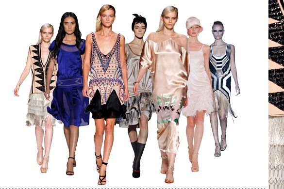 Ss12 Catwalk Trends Twenties Asos Fashion Finder All Books Musics Movies Pinterest