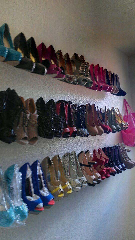 Pin By Kecia Harris On Shoes 3 Diy Shoe Rack Diy Shoes Shoe Rack