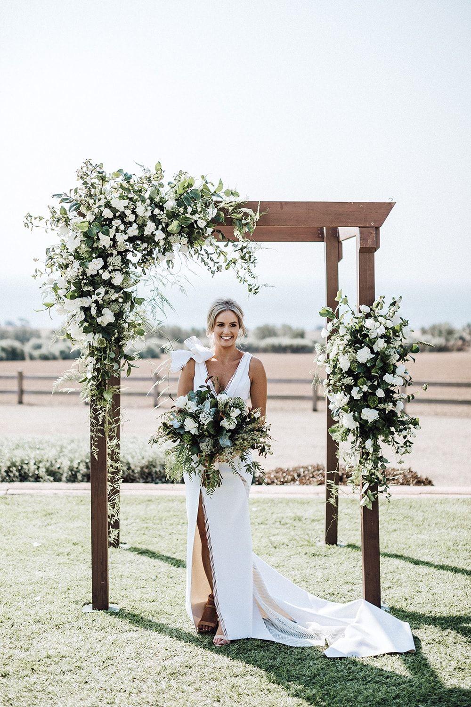 Alex & Justin's Elegant Garden Marquee Wedding