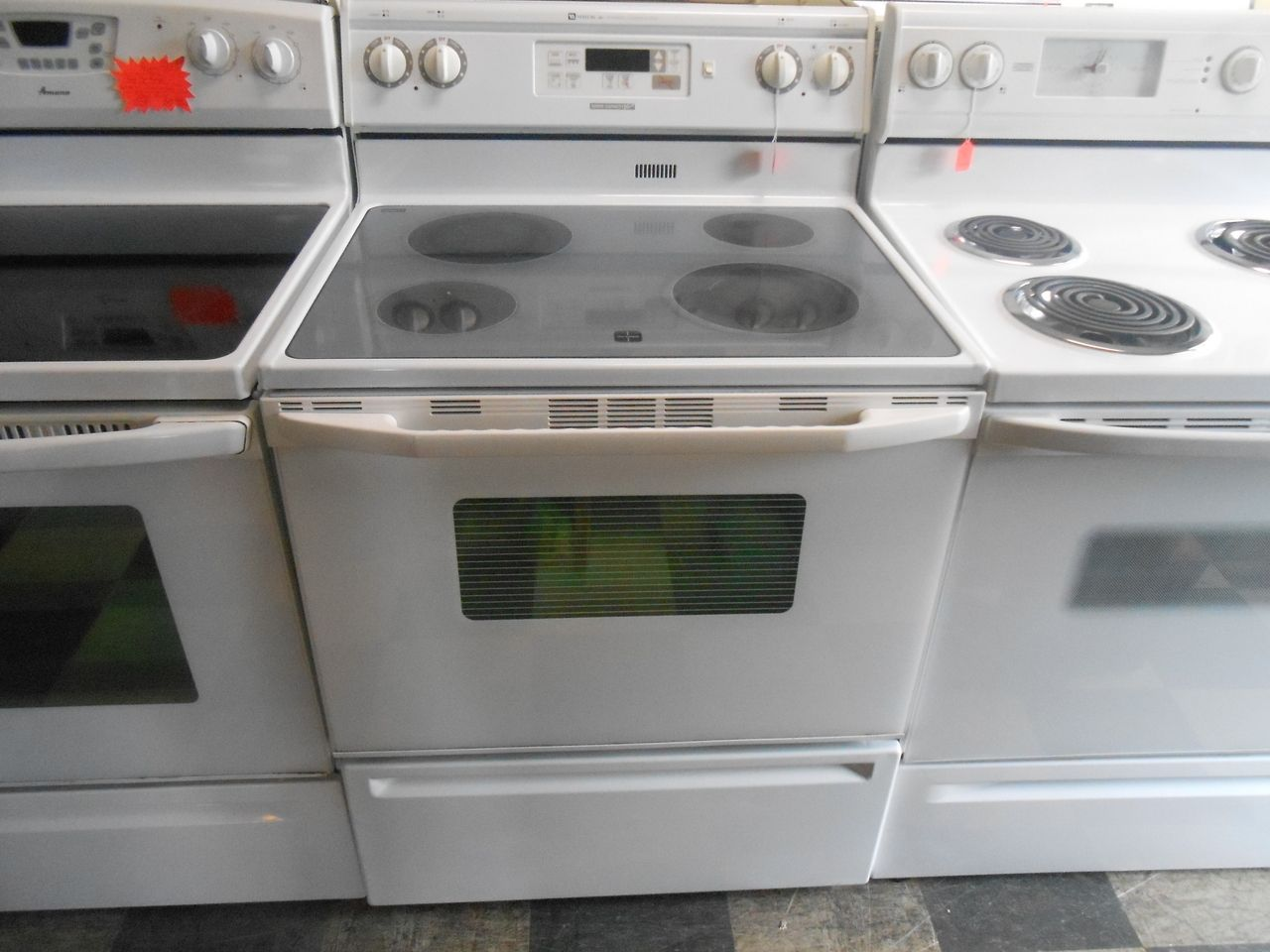Appliance City - MAYTAG 30 INCH ELECTRIC RANGE WITH ADVANCE ...