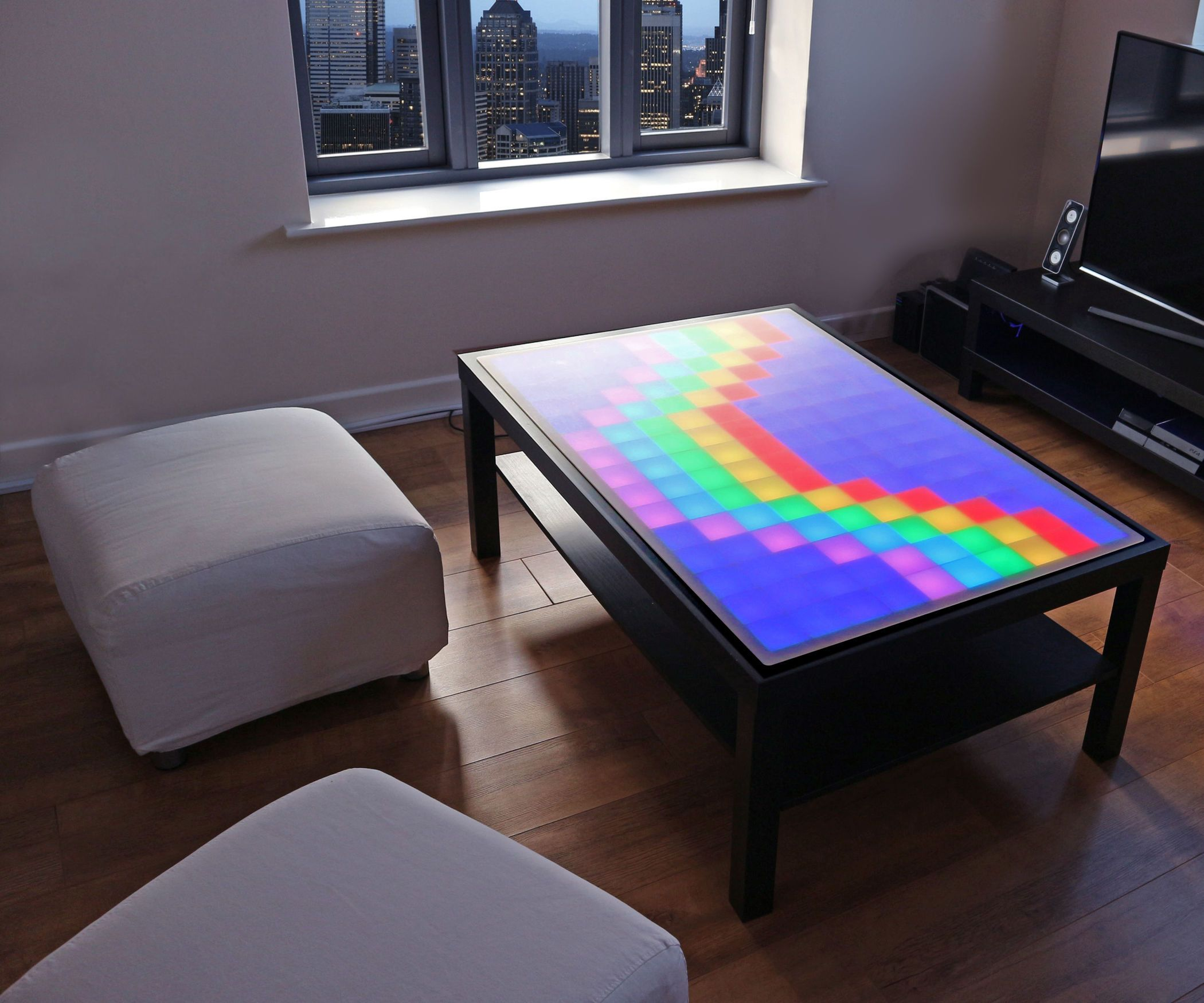 The Diy Led Table Kit Led Diy Table Diy [ 1750 x 2100 Pixel ]