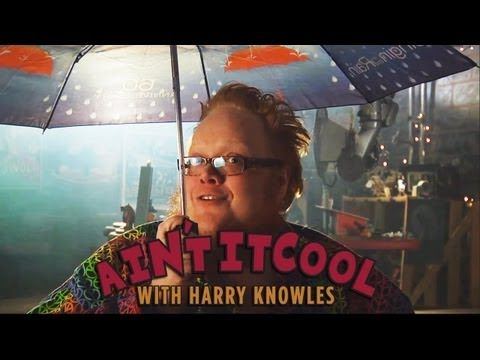 DARK KNIGHT SINGIN' IN THE RAIN - Ain't It Cool with Harry Knowles