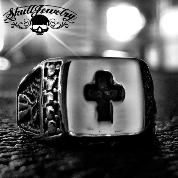 'St. Paul' Christian Cross Ring (003)