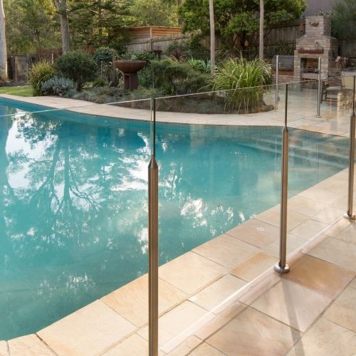 Glass Pool Fencing Systems Everton At Bunnings Glass Pool Fencing Pool Fence Glass Pool