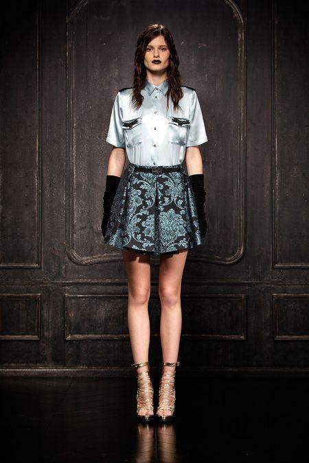 Pre-Fall 2013, Designer: Just Cavalli, Model: Bara Holotova