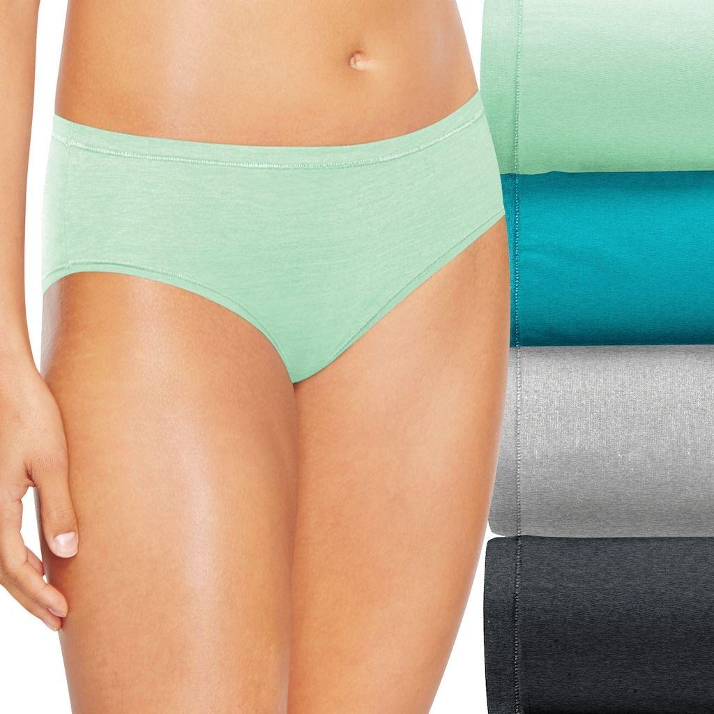 d76c6406a8 Hanes Ultimate 4-pk. + 1 Bonus Comfort Soft Bikini Panties 46HUSB ...