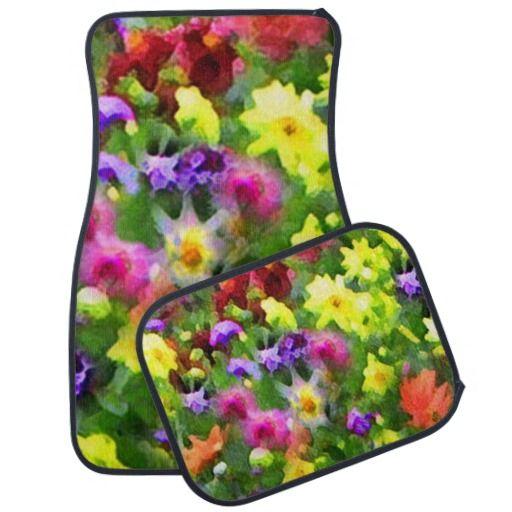Floral Impressions Car Mat