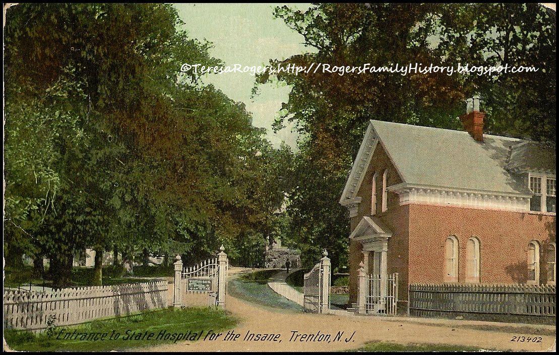 Trenton Insane Asylum 1917 Abandoned Insane Asylum Insane Asylum Lunatic Asylum
