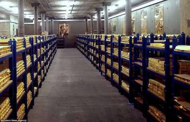 England S Gold Bullion Gold Vault Bank Of England Gold Bullion