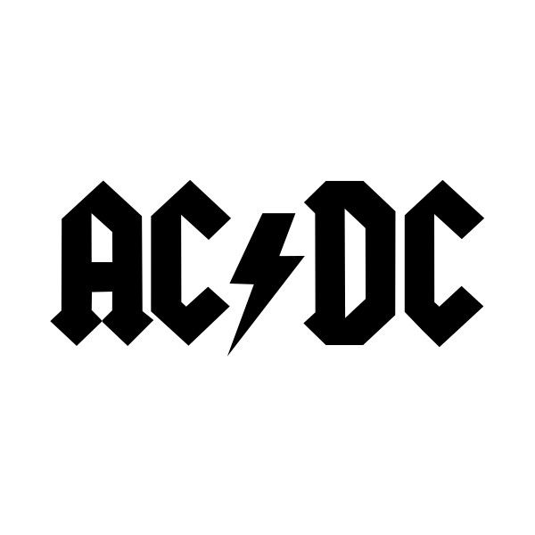 file acdc logo bandsvg liked on polyvore featuring music