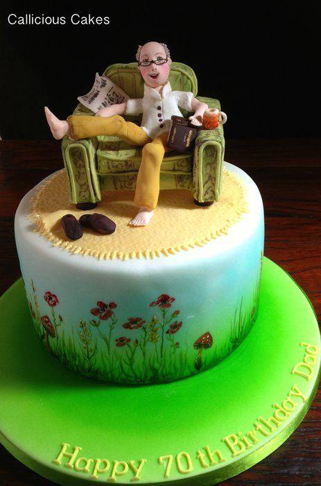 Pasteles Cumpleaños Claydough Cat Cake Topper