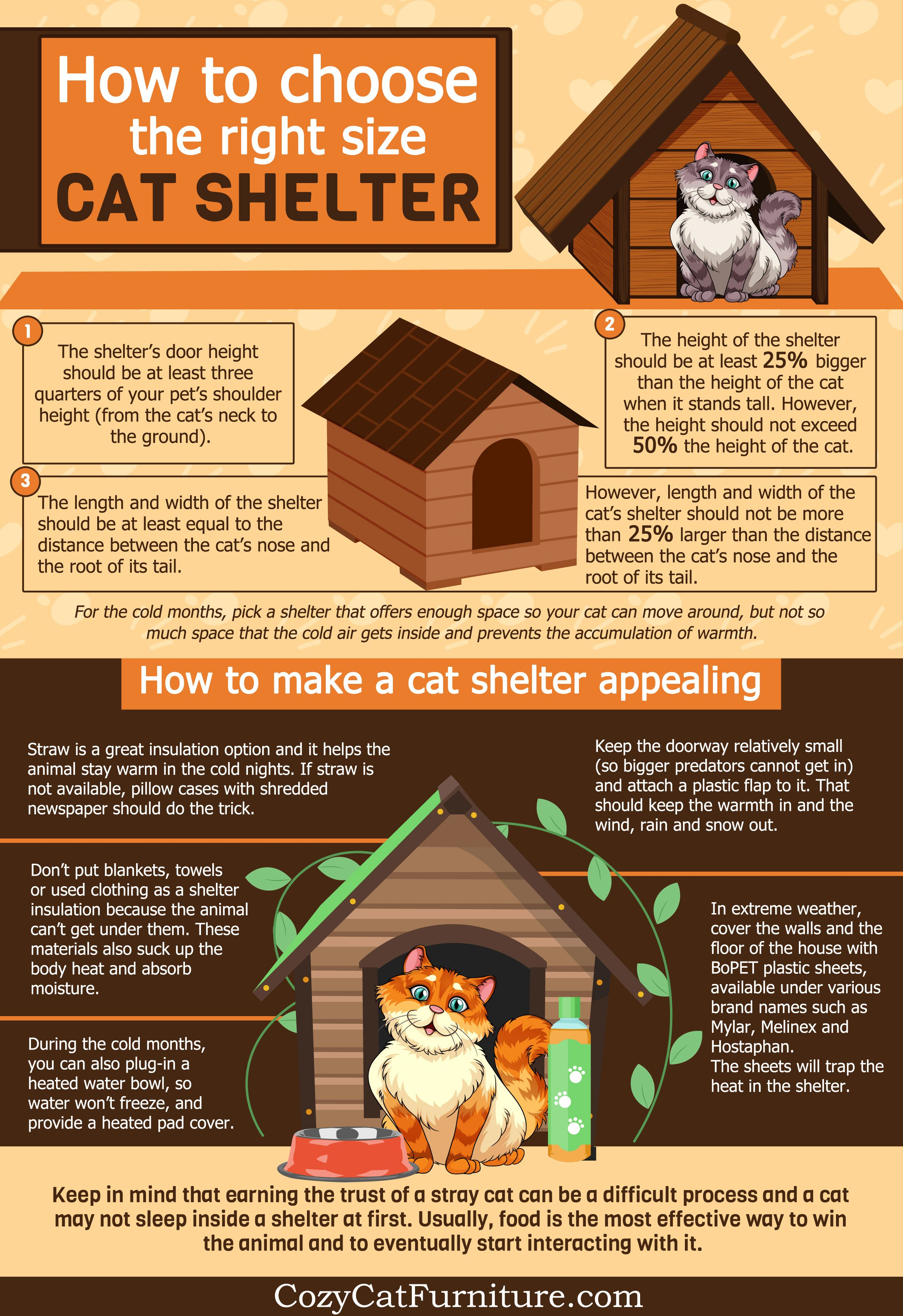 Feral And Stray Cats Here S How To Help Them Outside Cat Shelter Stray Cat Cat Shelter