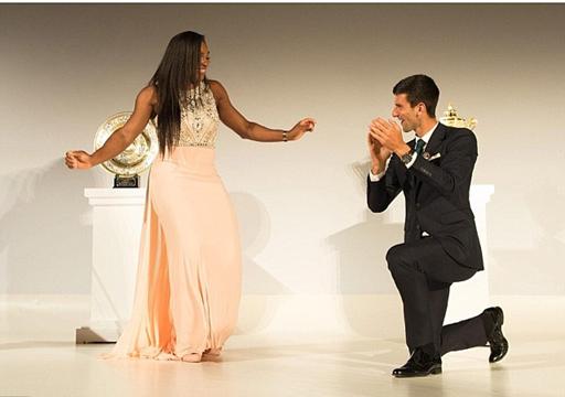 Ekpo Esito Blog: Novak Djokovic, Serena Williams celebrate tourname...