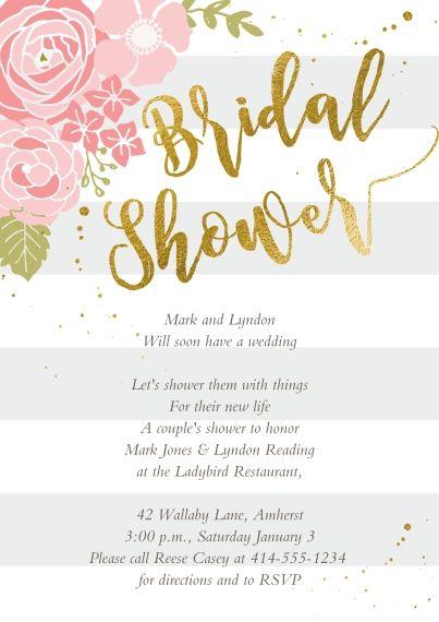 Wedding Shower Invitations Invites Snapfish Bridal