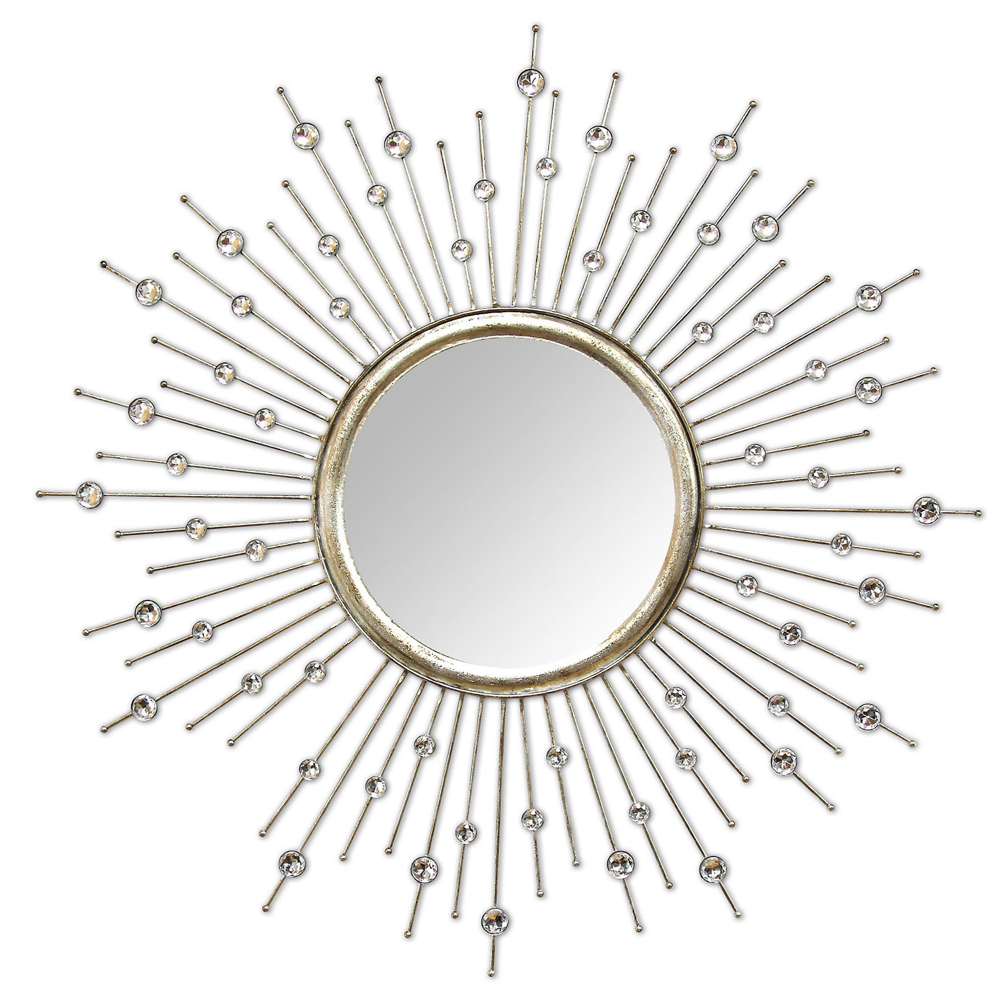 Silver Lucy Wall Mirror - Kirklands