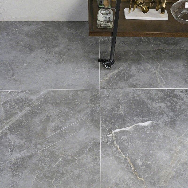 Marble Tech Grigio Imperiale 24x24 Polished Porcelain Tile