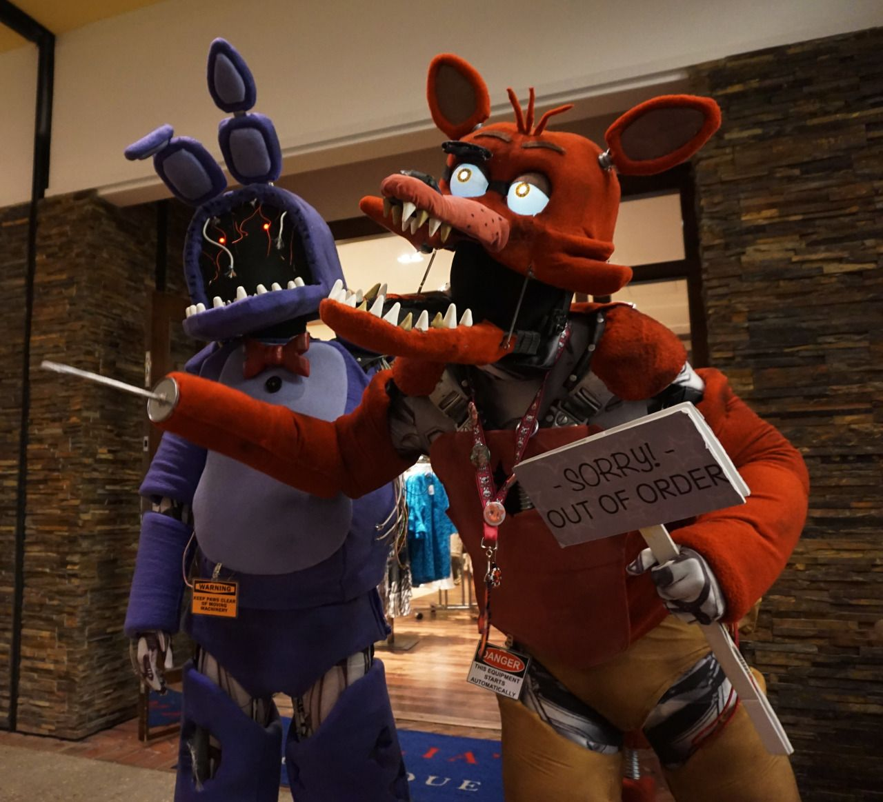 F fnaf bonnie costume for sale - Stray S Hutt Five Nights At Freddy S Magfest 2016 Bonnie Is Me