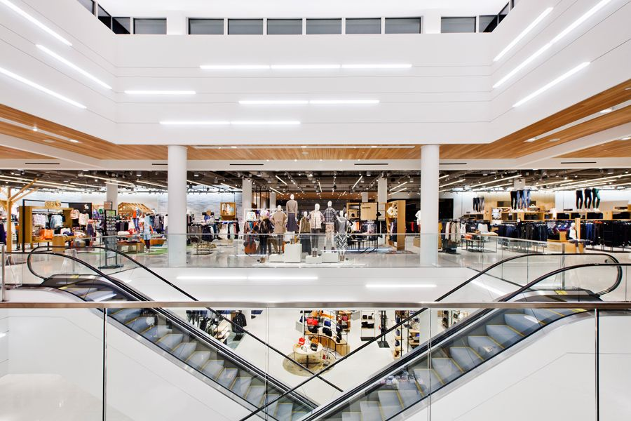 Association For Retail Environments Shop Interiors Design Awards The Woodlands Mall