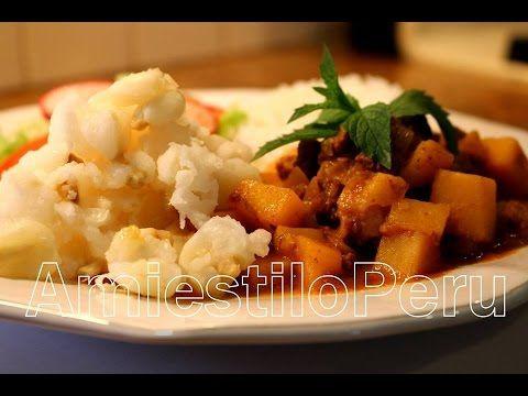 CHANFAINITA de carne de res AmiestiloPeru 2015 http://youtube.com/user/zoylaM