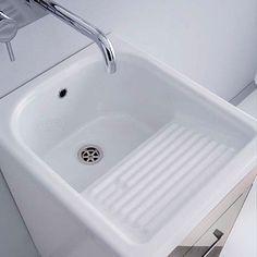 Lavatoio In Ceramica Per Lavanderia.Lavatoio In Ceramica Gange 40x60 Lavanderia Nel 2019 Ceramica